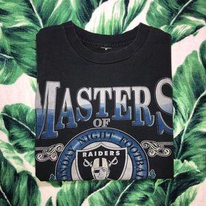 Vintage 90s Los Angeles Raiders Shirt ABC Football